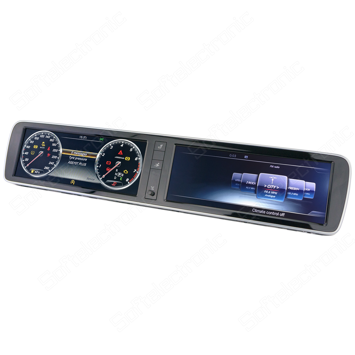 Repair of Instrument Cluster for Mercedes W222