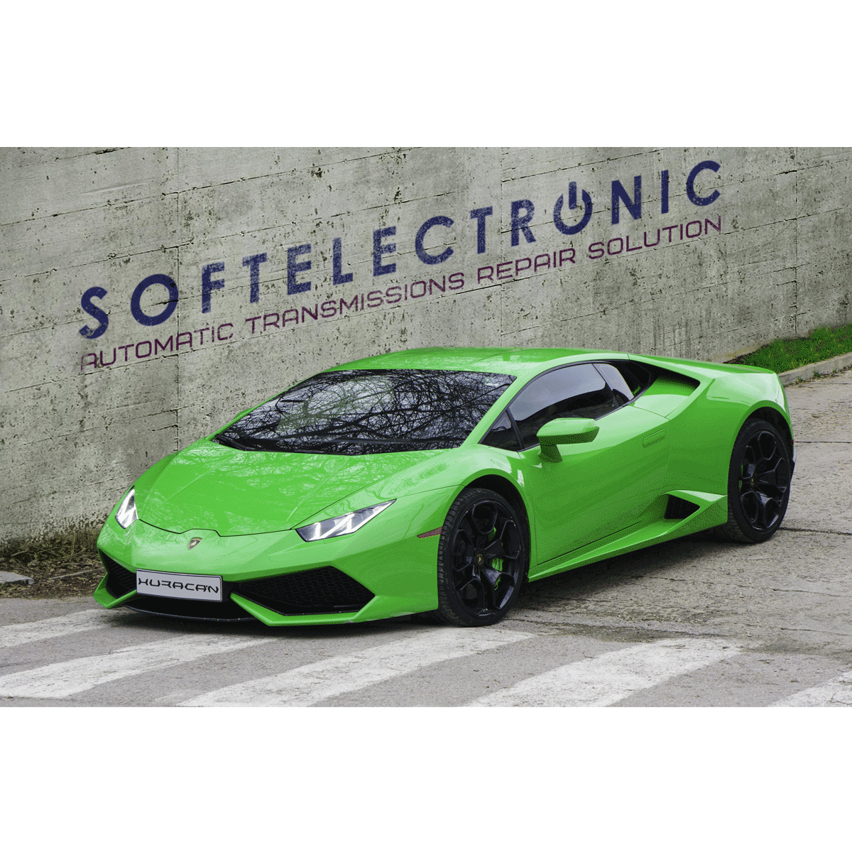 Repair of Lamborghini Huracan DQ500 7 speed mechatronic