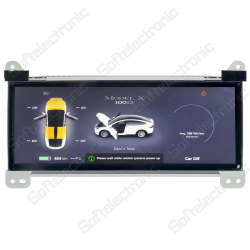 Repair of Instrument Cluster for Tesla Model X